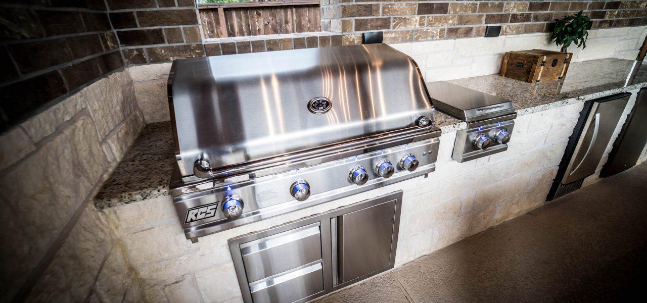 premium RCS gas grill