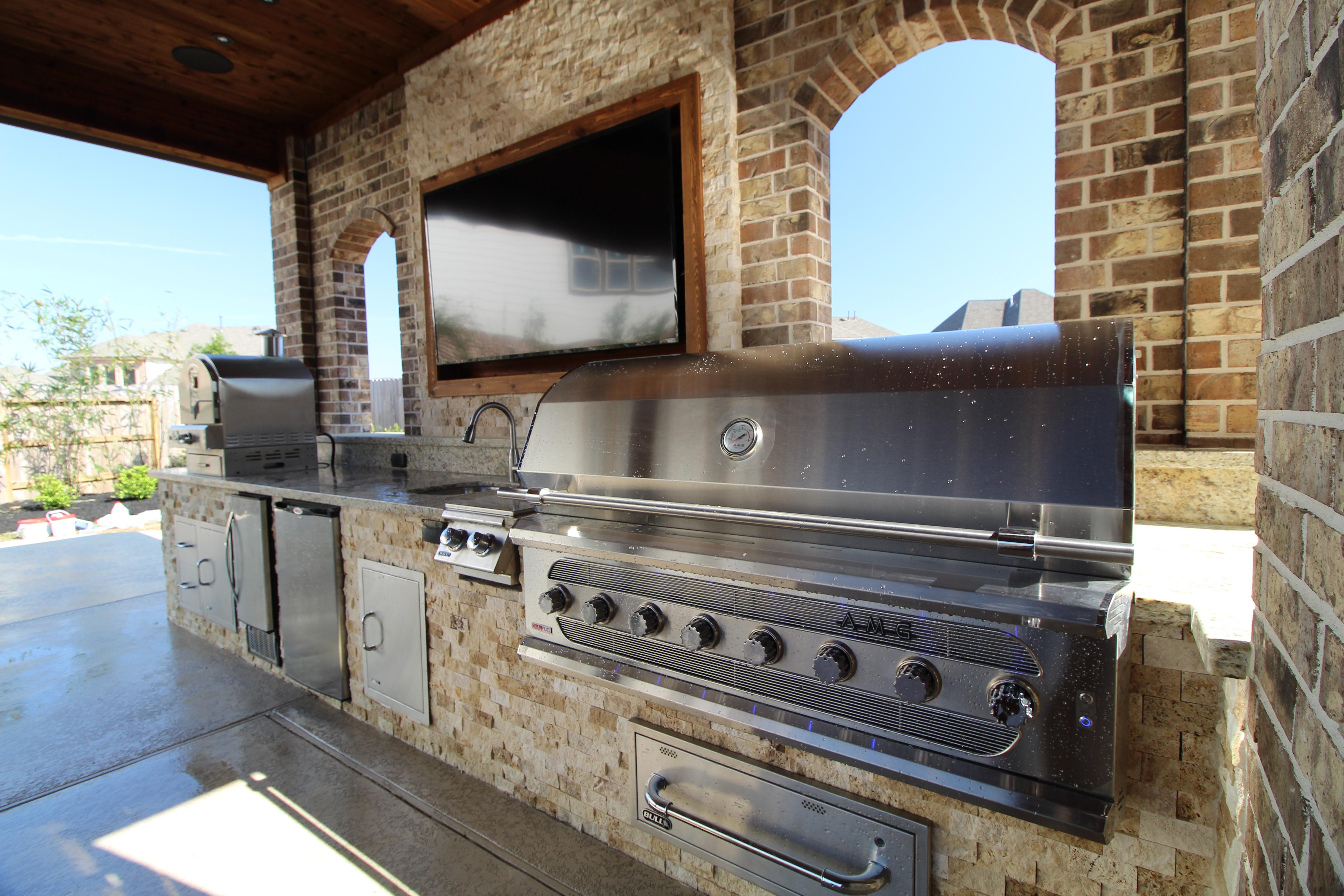 premium gas grill