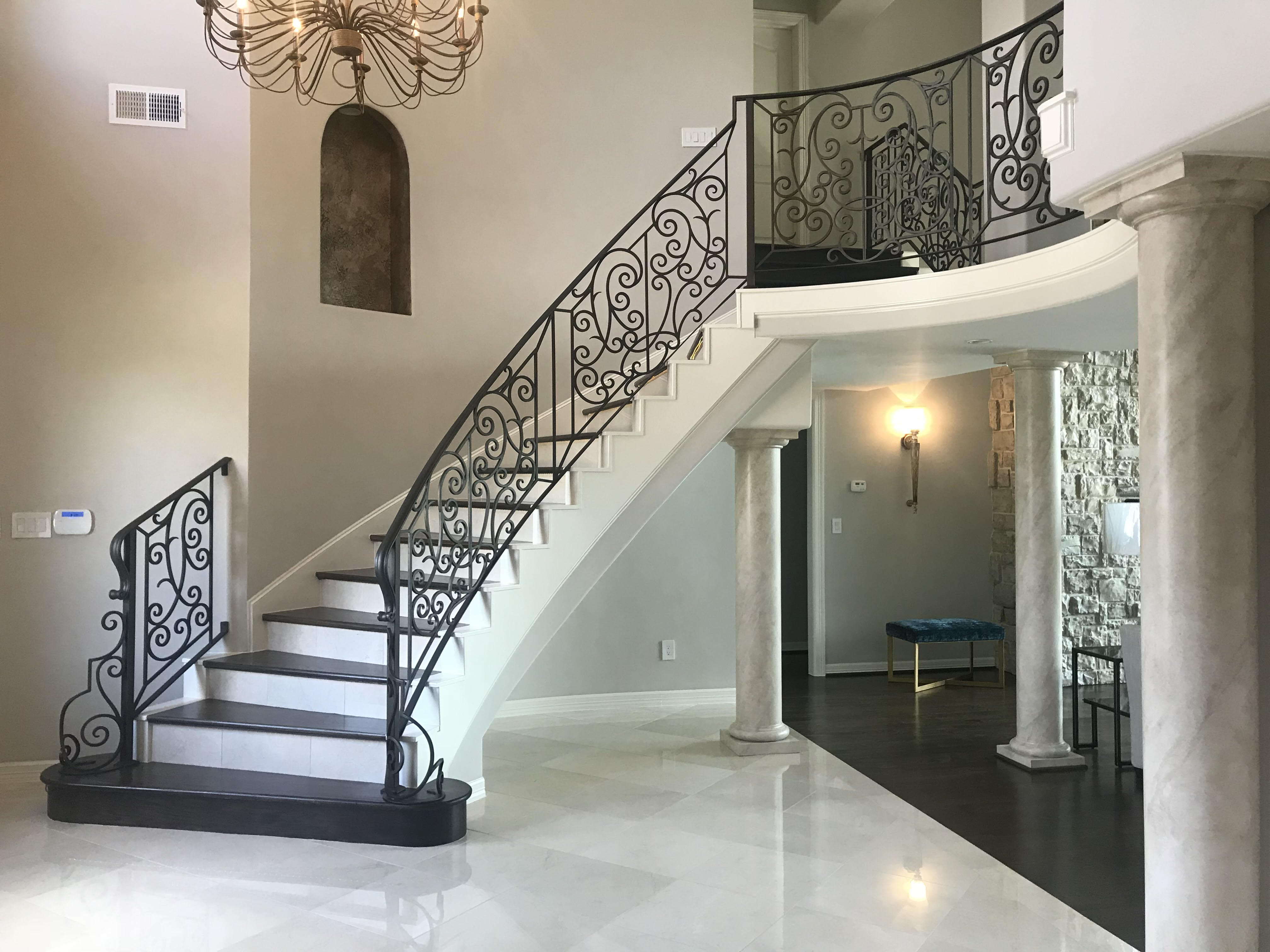 home staircase remodel